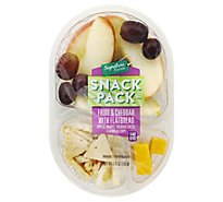 Signature Farms Snack Pk Fruit & Chedr Flatbread - 4.5 Oz