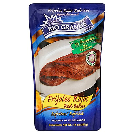 Rg Red Refried Beans - 14 Oz