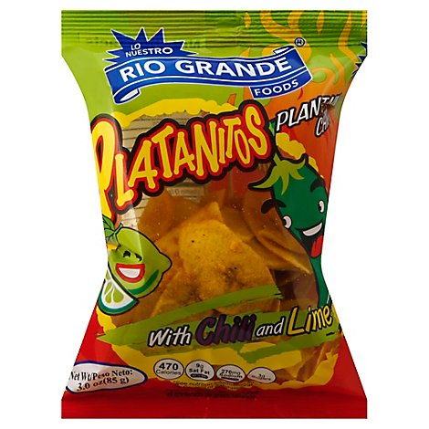 Rg Platain Chips With Chili And Lime - 3 Oz