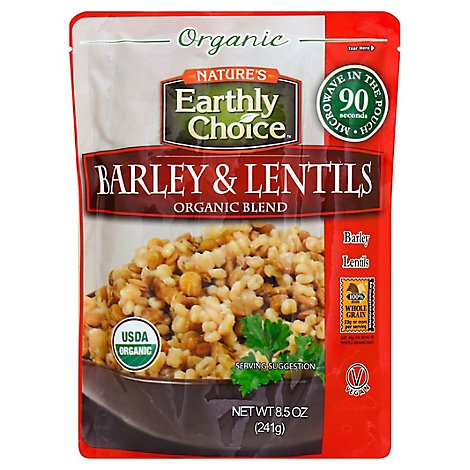 Natures Earthly Choice Barley And Lentil - 8.5 Oz
