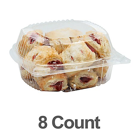 Bakery Strawberry Cheese Strudel 8  Count