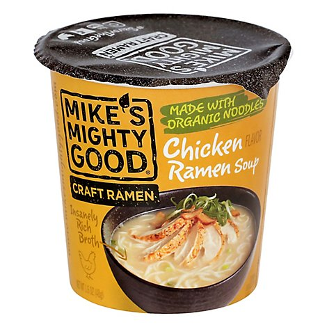 Mikes Mig Soup Cup Chicken Org - 1.6 Oz