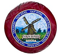 Van Kaas Gouda Cheese Red Wax 0.50 LB