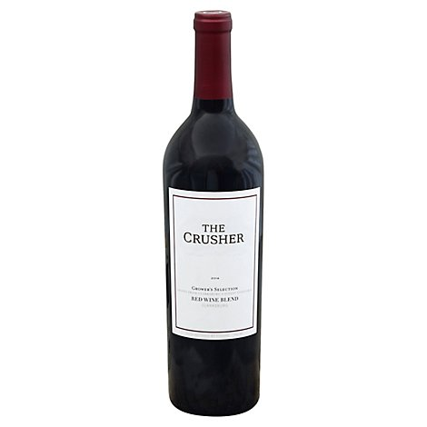 The Crusher Red Blend Wine - 750 Ml