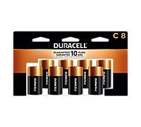 Duracell Alkaline Personal Power C - 8 Count