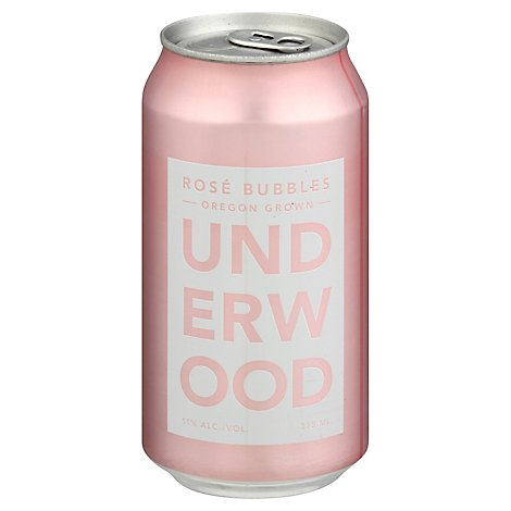 Underwood Sparkling Rose Bubbles Cans Wine - 375 Ml