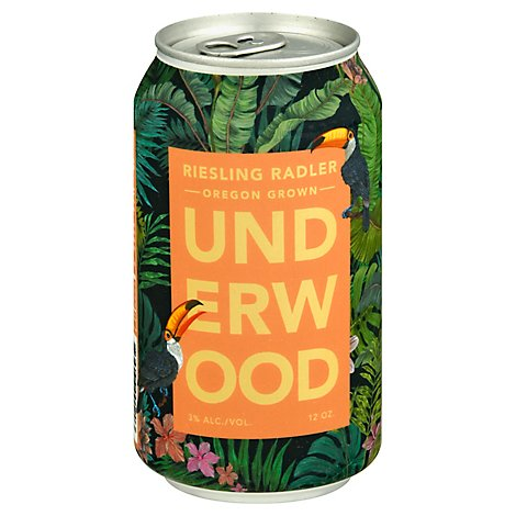 Underwood Riesling Radler Cans Wine - 12 Oz