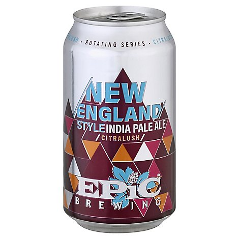 Epic New England Ipa In Cans - 6-12 Fl. Oz.
