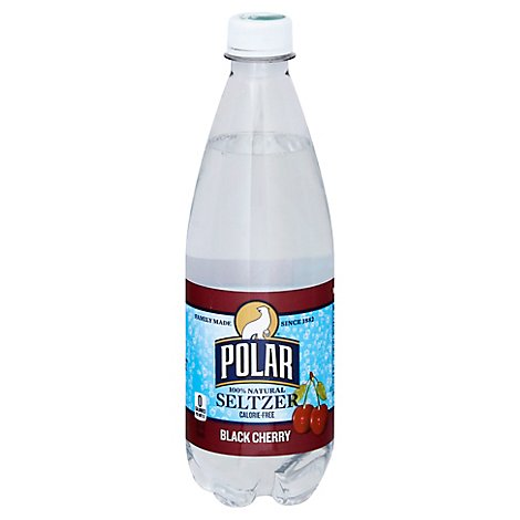 Polar Seltzer Black Cherry - 20 Fl. Oz.