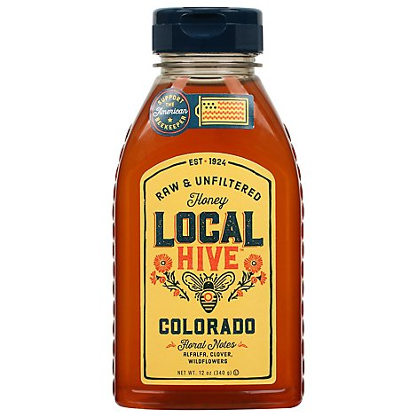 Local Hive Honey Raw & Unfiltered Colorado - 12 Oz