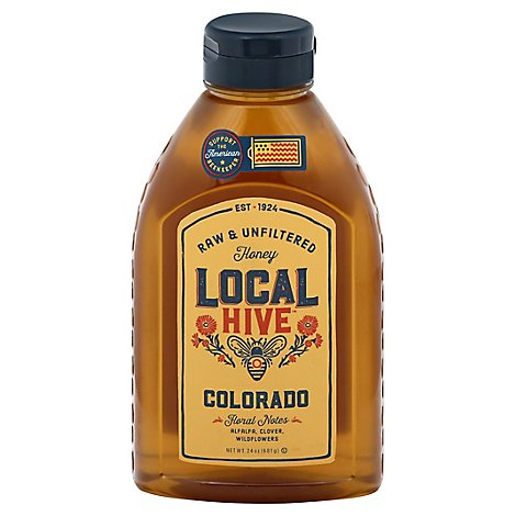 Local Hive Honey Raw & Unfiltered Colorado - 24 Oz