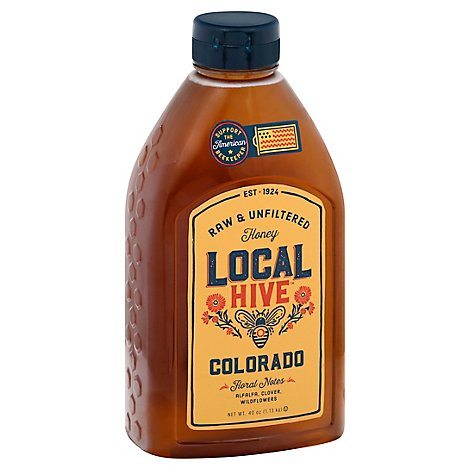 Local Hive Honey Raw & Unfiltered Colorado - 40 Oz