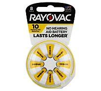Rayovac Retail Size 10 8pk - 8 Count