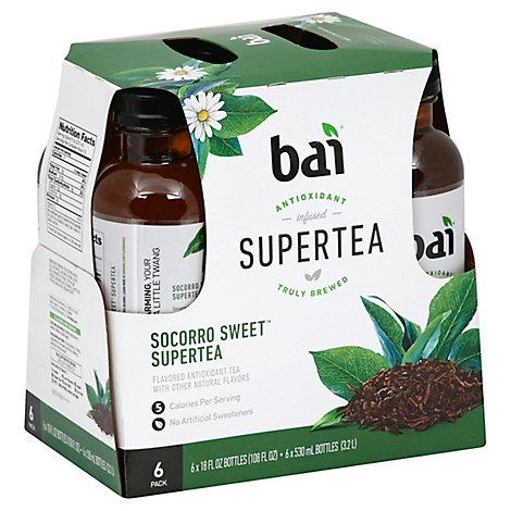 Bai Supertea Socorro Sweet Tea - 6-18 Fl. Oz.