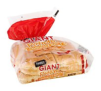 Signature Select Hamburger Buns Potato - 21 Oz