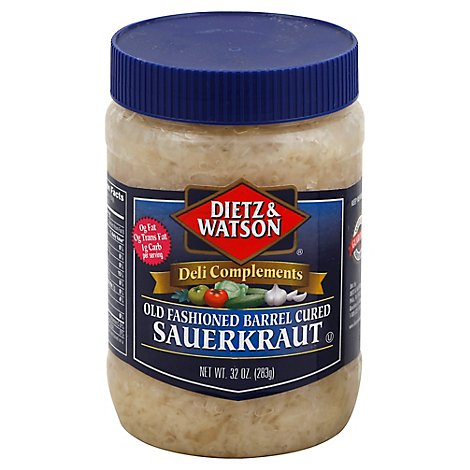 Dietz & Watson Old Fashioned Barrel Cured Sauerkraut - 32 Oz