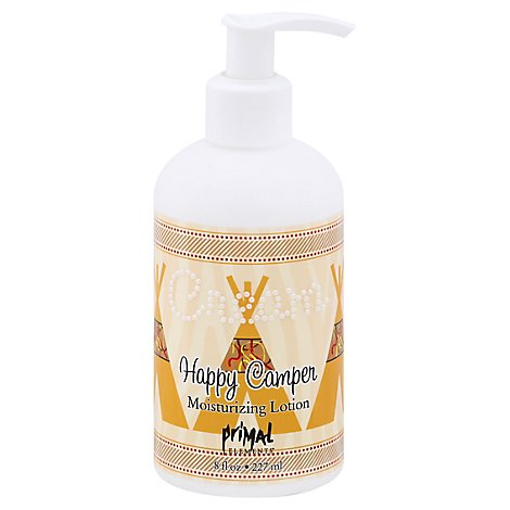 Primal Elements Lotion Happy Camper - 8 Oz
