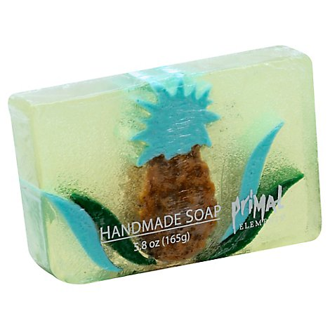 Primal Elements Pineapple Bar Soap - 5.8 Oz