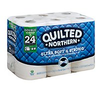Quilted Northern Soft And Strong Bath Tissue 12 Double Rolls - 12 Roll