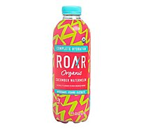 ROAR Organic Electrolyte Infusions Cucumber Watermelon Bottle - 16.9 Fl. Oz.