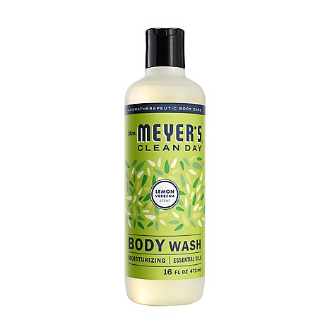 Mrs. Meyers Clean Day Body Wash Lemon Verbena Scent 16 ounce bottle