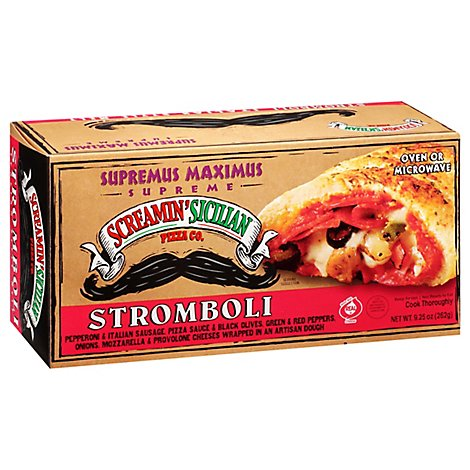 Screamin Sicilian Pizza Supremus Maximus Frozen - 9.25 Oz