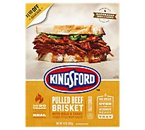 Kingsford Smoked & Seasoned Pulled Beef Brisket Tex Style Sauce - .875 Lb
