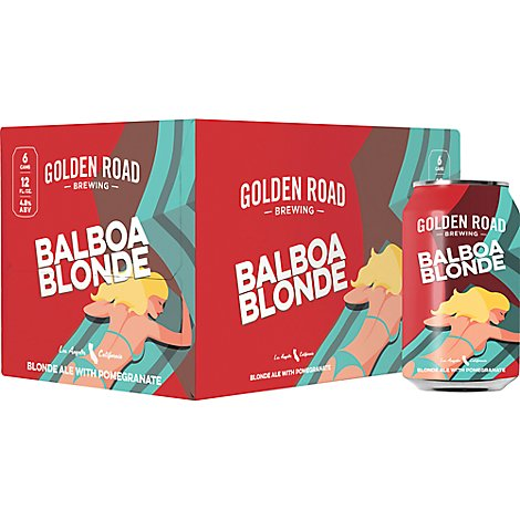 Golden Road Balboa Blonde In Cans - 6-12 Fl. Oz.