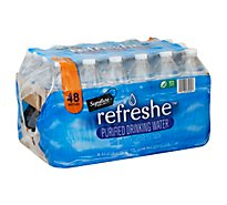 Signature Select Refreshe Purified Water - 48-8 Fl. Oz.
