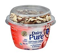 Dairy Pure Strawberry Almond Cottage Cheese - 5.3 Oz