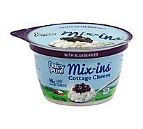 Dairy Pure Blueberry Mixins Cottage Cheese - 5.3 Oz