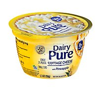 Dairy Pure Pineapple Mixins Cottage Cheese - 5.3 Oz
