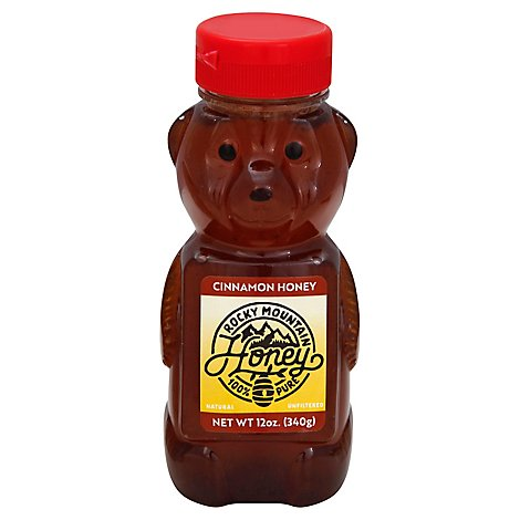Rocky Mountain Cinnamon Honey Bear - 12 Oz