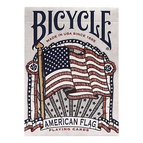 Bicycle American Flag Deck - Each