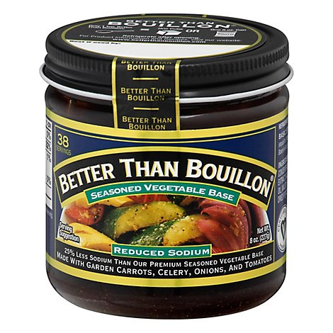 Better Than Bouillon Base Vegetable - 8 Oz