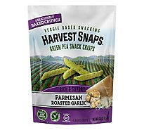 Harvest Snaps Green Pea Parmesan Roasted Garlic - 3 Oz