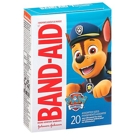 Bandaid Nickelodeon Paw Patrol - 20 Count