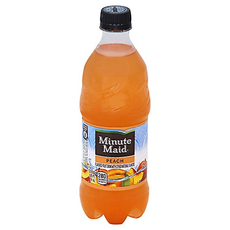 Minute Maid Peach Bottle 20 Fl Oz - 20 Fl. Oz.
