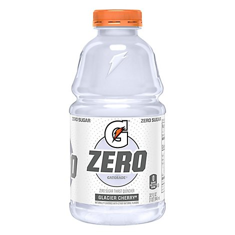 Gatorade Zero Thirst Quencher Glacier Cherry Bottle - 32 Fl. Oz.