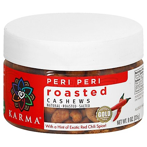 Karma Cashew Peri Peri Roasted - 8 Oz