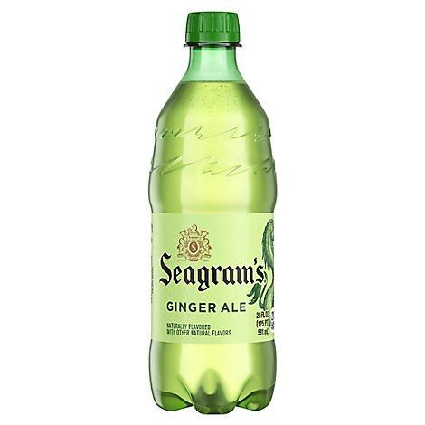 Seagrams Soda Pop Ginger Ale - 20 Fl. Oz.