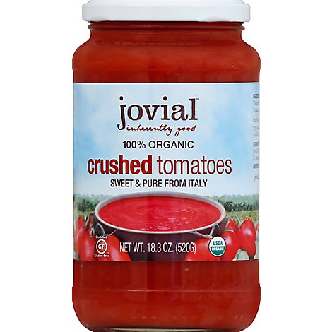 Jovial Tomato Crushed Org - 18.3 Oz