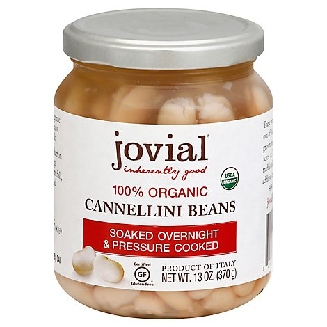 Jovial Beans Cannellini Org - 13 Oz