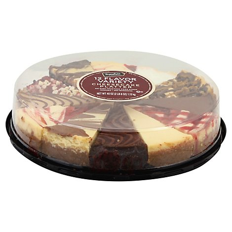 Signature Select 12 Variety Cheesecake 9 Inch - 40 Oz