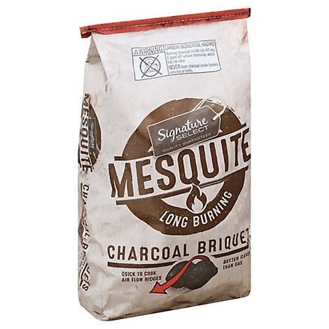 Signature Select Charcoal Briquets Mesquite - 14.6 Lb