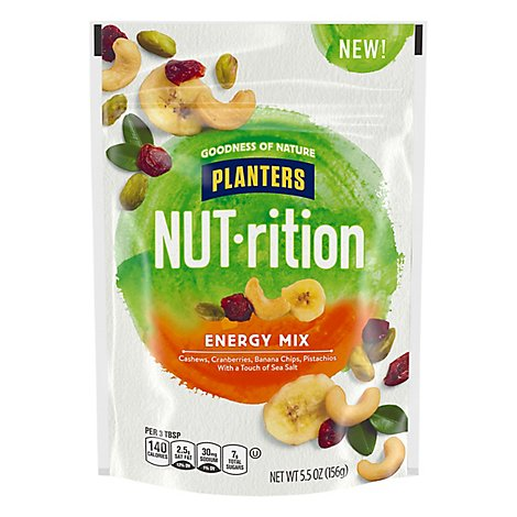 Planters NUT-rition Energy Mix Pouch - 5.5 Oz