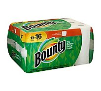 Bounty Paper Towels Full Sheets Big Roll 2 Ply - 12 Roll