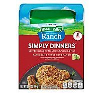 Hidden Valley Simply Dinners Breading Prep Kit Parmesan Three Herb Ranch - 3.38 Oz