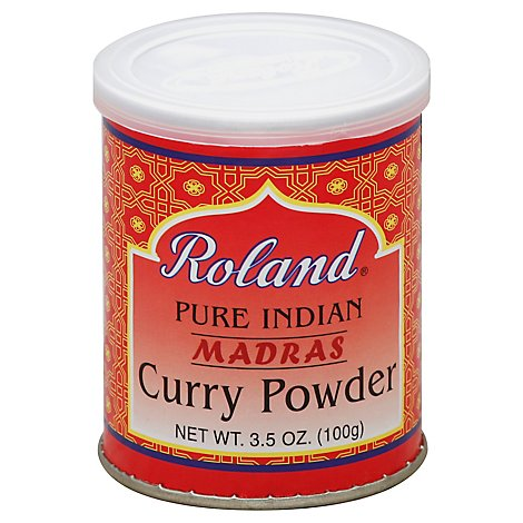 Roland Ssnng Curry Pwdr Madras India - 3.5 Oz