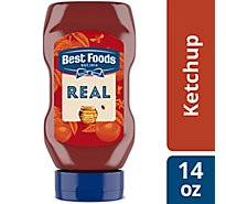 Best Foods Ketchup Real Honey - 14 Oz